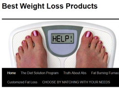 One place where you can very the top selling weight loss products can be reviewed and bought